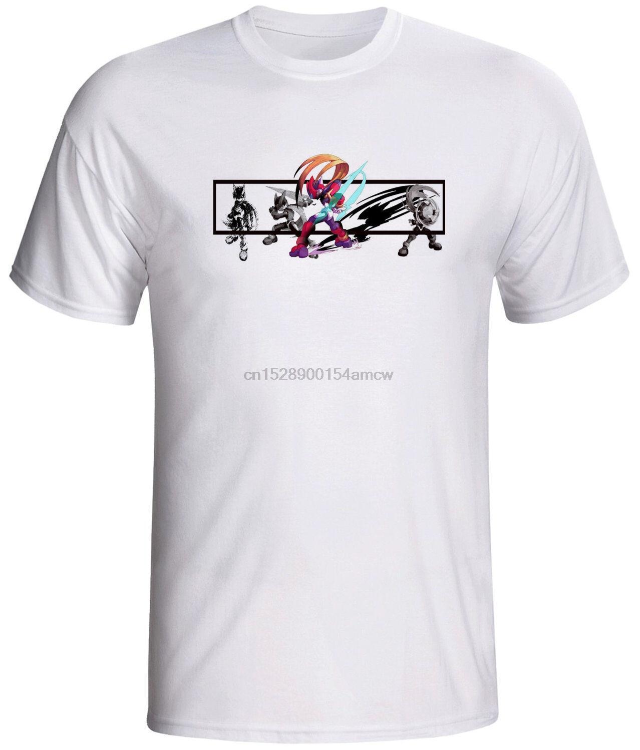 мега человек рубашка игра ноль ретро видео