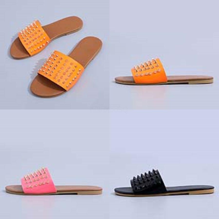 Los hombres de Dener famoso Verano Hombres Mujeres Slide Negro zapatillas sandalias de las señoras Wite Negro Slipperssandals Soes La-Up de las chancletas # 587 # 270