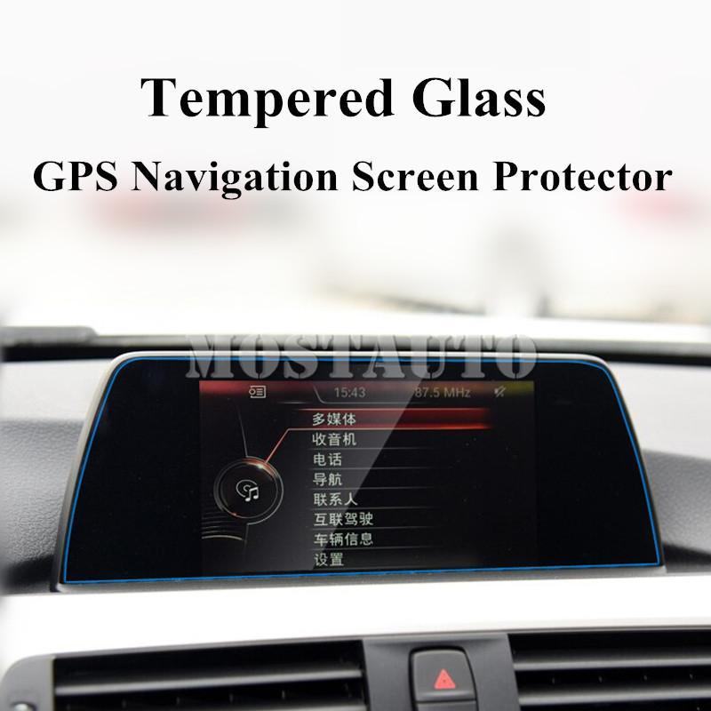 Sertleştirilmiş Cam GPS Navigasyon Ekran Koruyucu için BMW 3 Serisi 4 Serisi F30 F32 F34 1pcs