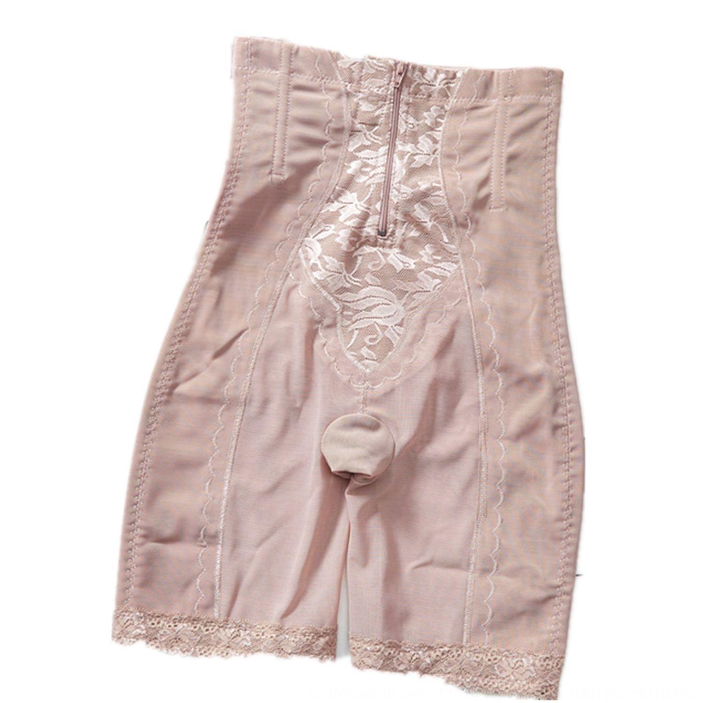 11sbU sous-vêtements du ventre Sous-vêtement façonnage corporel fermeture à glissière agrandie du post-partum fermeture à glissière à poitrine hip-levage minceur minceur mesh respirant