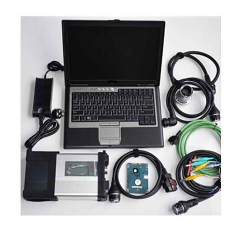 MELHOR MB Estrela C5 SD Connect with D630 Laptop com HDD / SSD completa SD software C5 2019.12xentry / DAS / DTS v8.14 / vediamo 5.1 / EPC / wis