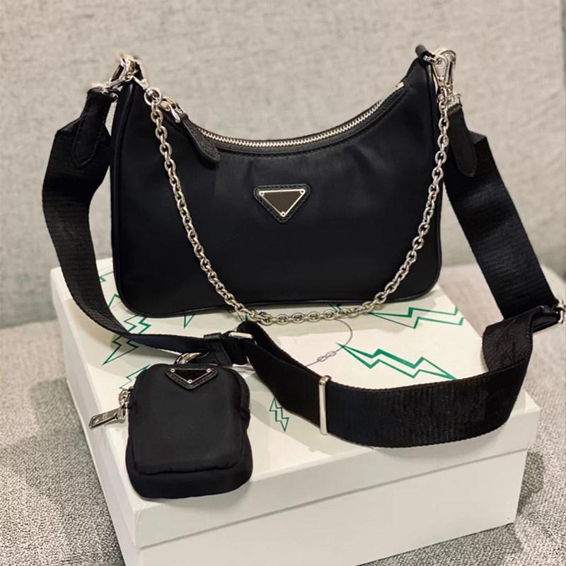 2020 top quality Designer bags women crossbody bag re-edition 2005 Genuine Nylon purses lady handbags bags Coin Purse tote shoulder bag Hobo