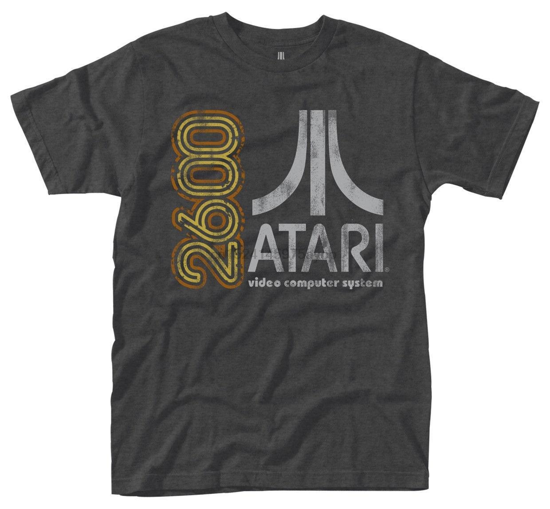 Atari 2600 T-SHIRT- Nuevo y Oficial