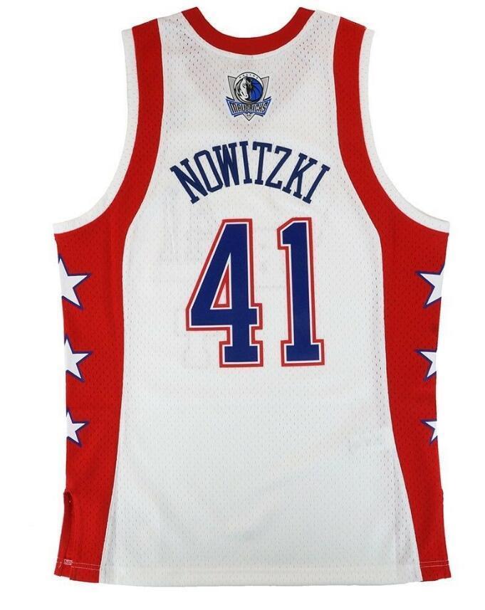 Donna-Uomo della gioventù Dirk Nowitzki 2004 Jersey di pallacanestro di formato S-4XL o personalizzato qualsiasi nome o numero di maglia