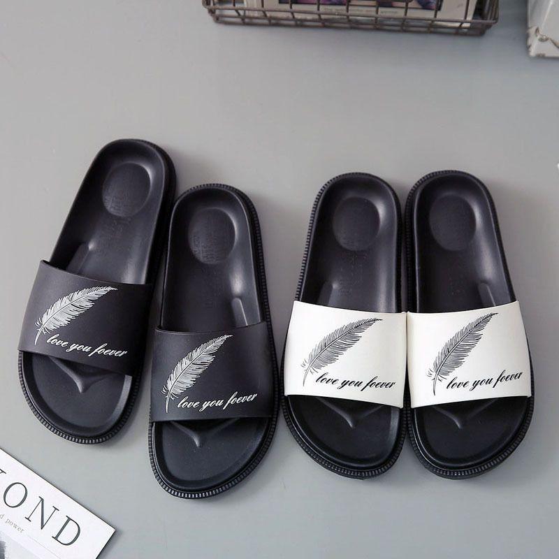 Zapatos de verano de la pintada de los deslizadores ocasionales de los hombres sandalias del ocio suave masaje Diapositivas Eva zapatillas de playa de agua sandalias de los hombres