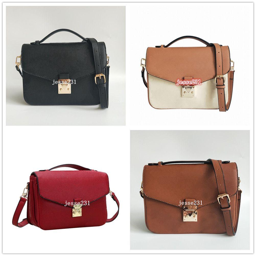 Üst Kalite Klasik Crossbody Kadınlar Omuz Çantası Çanta Bayan Çantası Paris Baskı Eski Çiçek Bez çanta çantalar