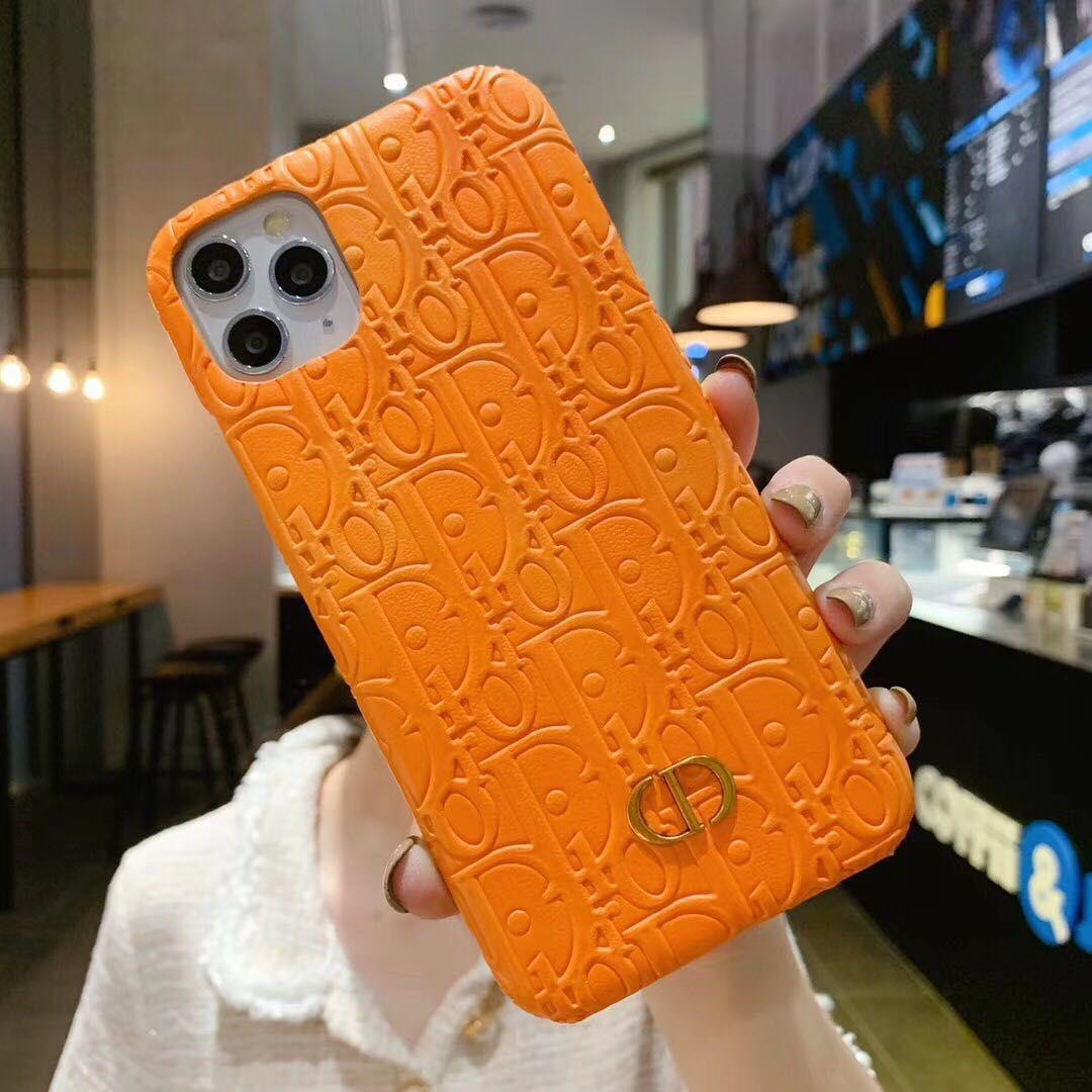 El diseñador de moda del teléfono del iPhone para el 11 Pro Max Max XS XR X 7 8 Plus
