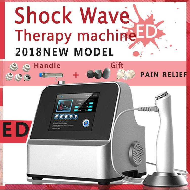 Etkili Fiziksel Ağrı Tedavisi Sistemi Şok Dalga Tedavisi Makinesi Extracorporeal Shockwave Terapi Ekipmanları İçin Ağrı Kesici Ed Tedavisi