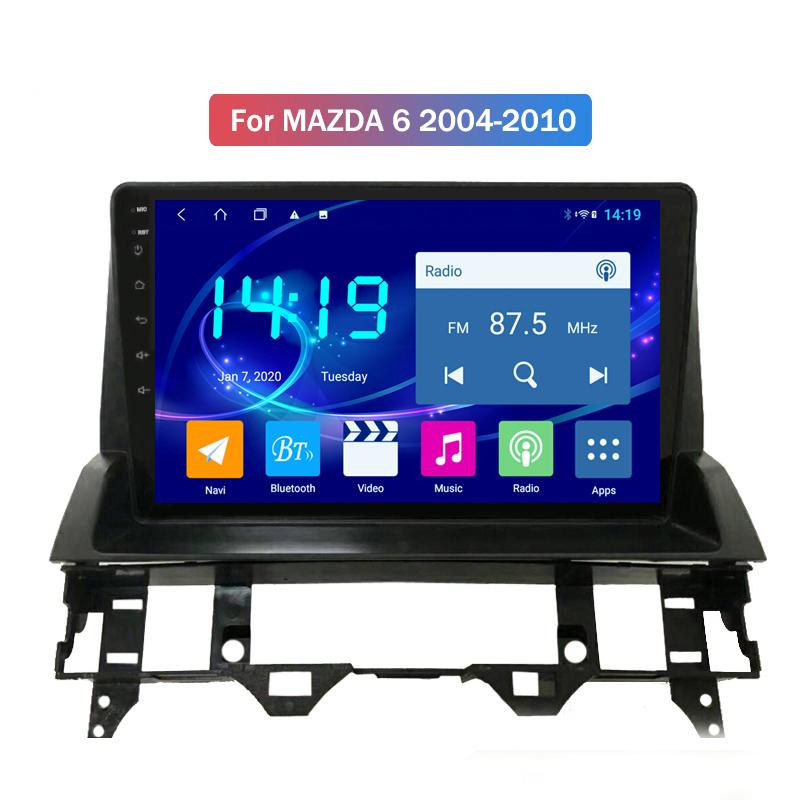 4G+64G Android 10 Car Dvd Player for MAZDA 6 2004 2005 2006-2010 System Autoradio Gps Navigation Multimedia 2.5d Ips Sreen