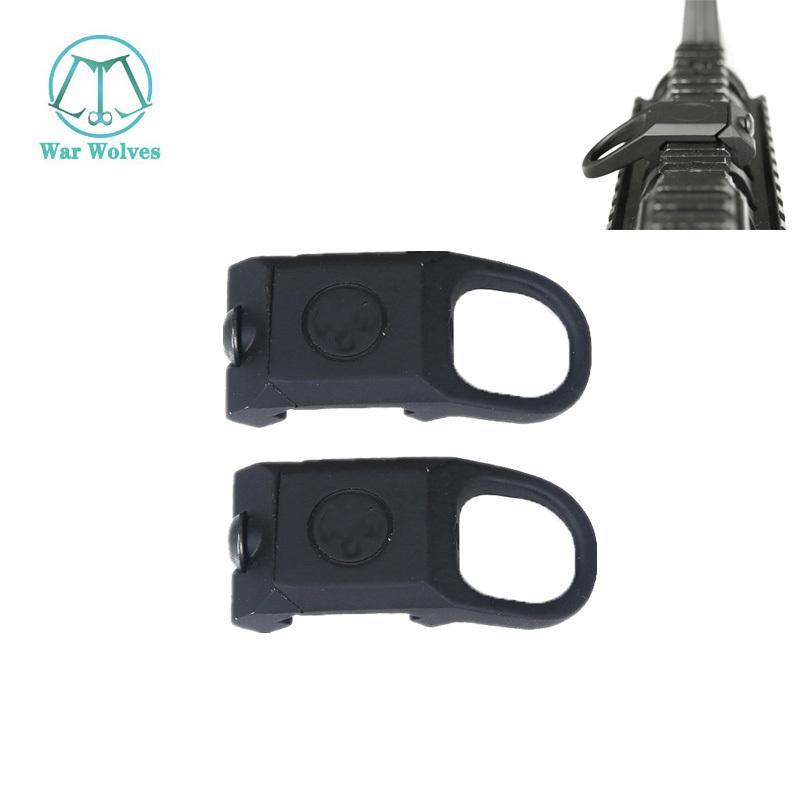 Airsoft Tactical RSA Rail Sling Attachment Quick Detach Sling Swivel Mount Adapter Rifle Gun Accessories