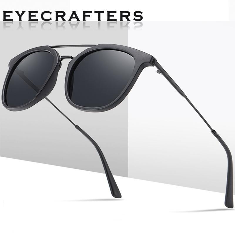 2020 nuovo modo TR90 leggero di guida polarizzati occhiali quadrati Uomini Donne Vintage Occhiali da sole Retro Maschio Occhiali