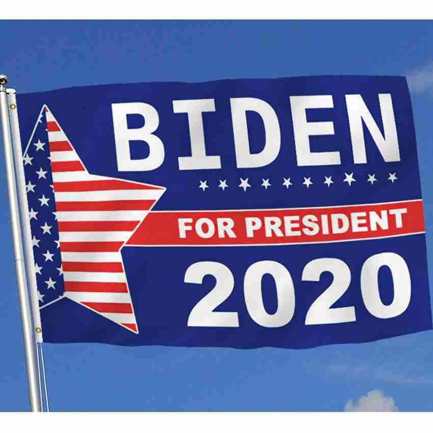 90 * 150CM 2020 جو بايدن العلم العلم أمريكا الانتخابات الرئاسية رئيس الولايات المتحدة الأمريكية بايدن 2020 أعلام حزب راية أعلام ZZA2334 الشحن 50Pcs