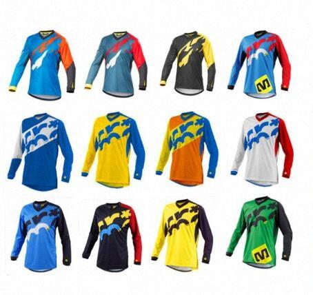 2020 2020 2020 réel Ropa Ciclismo New Seven Am Dh Prenez personnalisé Motocross manches longues cyclisme Maillots Downhill Chemises Maillot NWLI Porter #