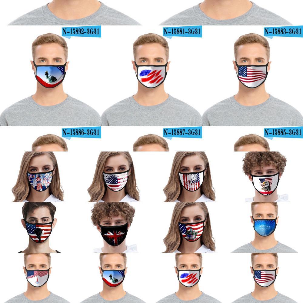 Мода Маска моющегося 3D Мультфильм Печатной Дизайнерский Хлопок Mouth Маска РМ2,5 пыл И WW7S