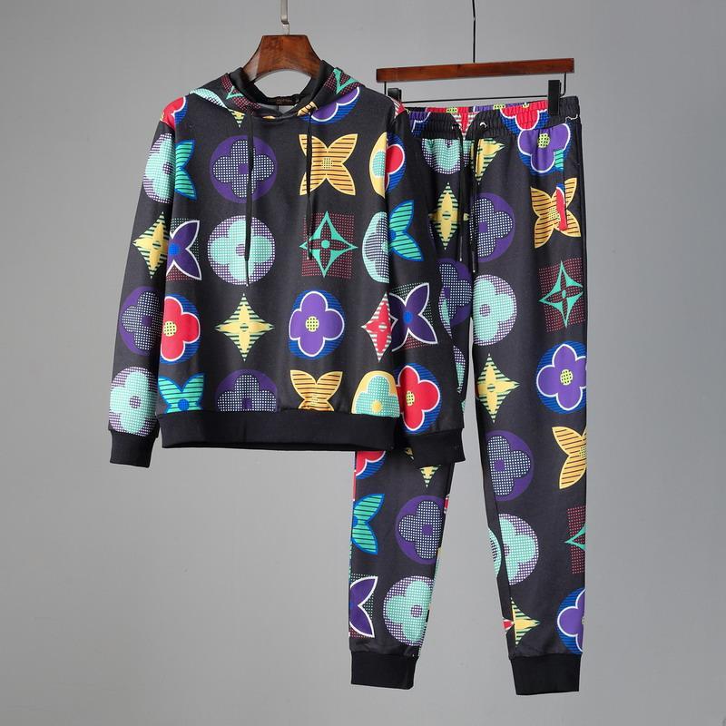 2020 eşofman erkek Erkekler Kapüşonlular Suits Marka Eşofman Erkek / Bayan Tişörtü + Sweatpants Sonbahar Kış Polar Kapşonlu Pullover hoodies