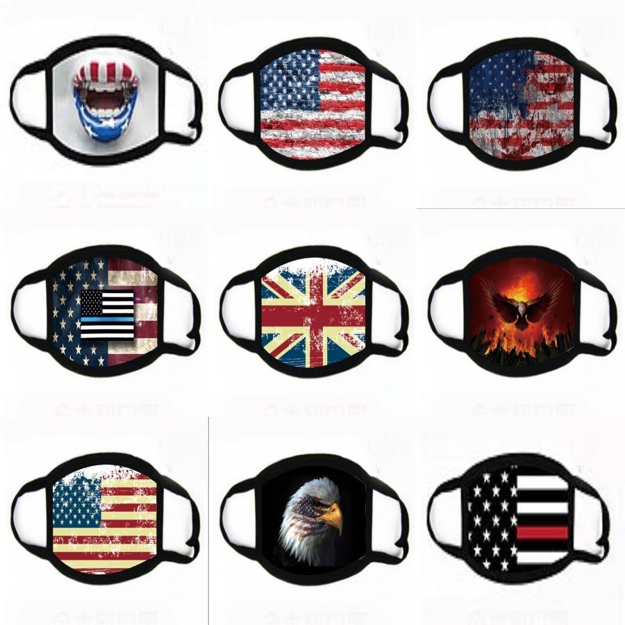 Yıkanabilir Yüz 2 Filtreler Koruyucu Moda Yüz Maskeleri # 794 Nakliye ile Valve Anti Toz kullanımlık solunum Maske
