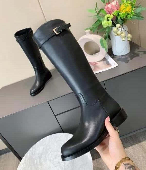 Delle donne di marca in pelle di mucca abito da sposa Winter Snow Boots moda High Top di lavoro Tooling Scarpa gialla deserto occidentale Martin stivali da pioggia, 35-40