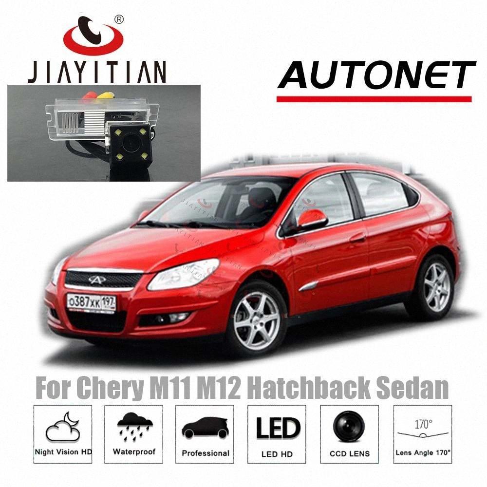 Chery M12 M11 Sedan Hatchback 2010 ~ 2015 CCD / Gece Görüş / Yedekleme Ters Kamera araba nmpc # için Jiayitian arka görüş kamerası