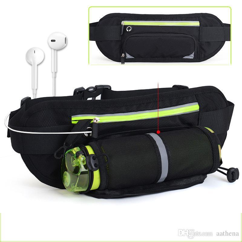 Sports de plein air Bouteille poches Ridingsprayground concepteur sac de sport de fannypack MarathonBelt Sac personnel exécutant téléphone portable de poche
