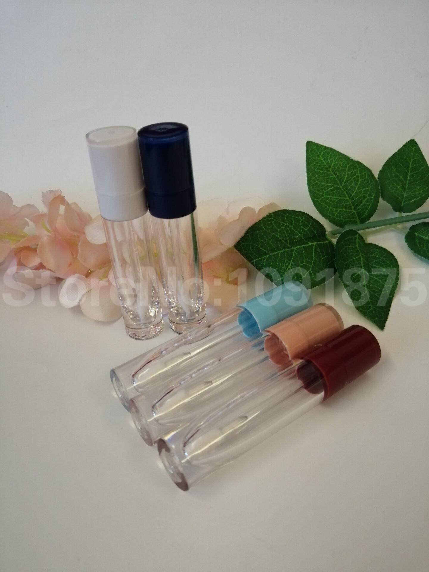 50шт 7ml 8ml Пустого блеск для губ трубки Clear для губ глазури бутылочки, DIY Перезаправляемого Макияжа Косметика контейнер упаковки