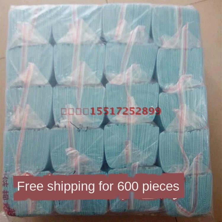 Asciugamano pettorina asciugamano saliva toweldisposable lace-up sciarpa carta patinata sciarpa una confezione di 30 pezzi