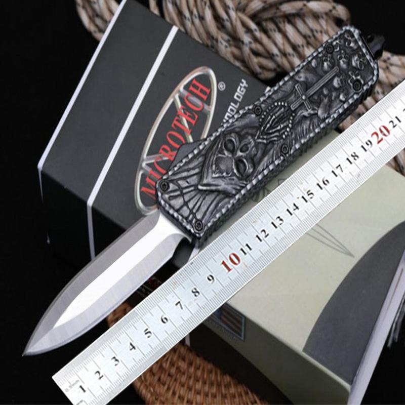 Microtech Automatic Knife single action Knives Tactical knife edc Survival Gear Pocket Knifes
