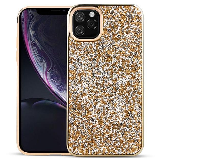 Diamond Glitter Bling híbrido 2 em 1 casos de PC do TPU para iPhone 11 Pro Max XR XS 8 7 6 6S Samsung S8 S10 5G mais S10E Nota 9 10 10+