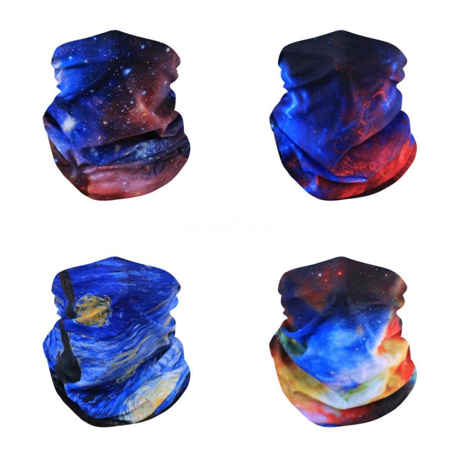 Außen Seamless magischer Schal Fa Maske Schal einen.Kreislauf.durchmachenreiten Masken Warm Neckercief Außengesicht Partei Masken Ib634 # 861 # 707