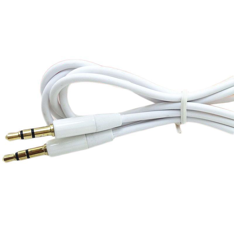 Aux-Kabel 3,5 mm 1m 3ft 2m 6ft Stecker auf Stecker Auto-Audio-Kabel für Samsung-PC MP3-Kopfhörer-Lautsprecher