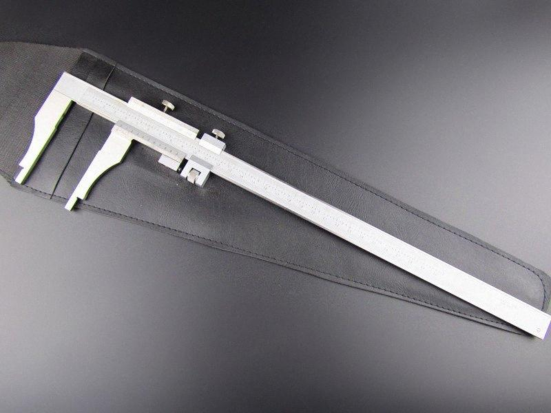 Wholesale-High quality 300mm/12inch stainless steel vernier caliper mono-block vernier caliper micrometer gauge with fine-adjustment 0 aKzc#