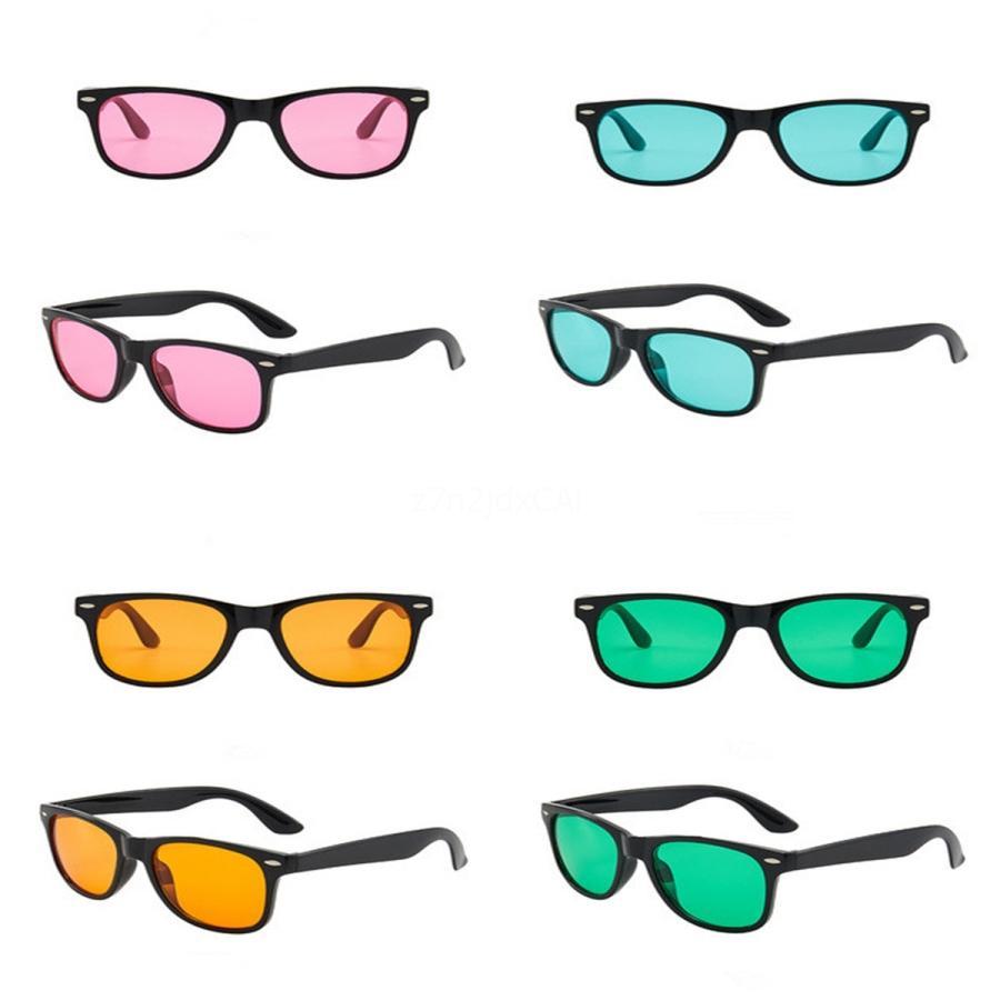 -2020 nuevo Fasion revestimiento de sol mujeres de los hombres de la vendimia Gafas de sol retro # 934