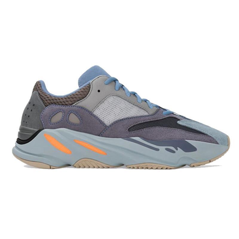 Kanye West 700 corredor de la onda zapatos Top calidad de funcionamiento analógico inercia del imán de malva de sal para la venta con zapatillas de deporte Caja de tienda precios al por mayor