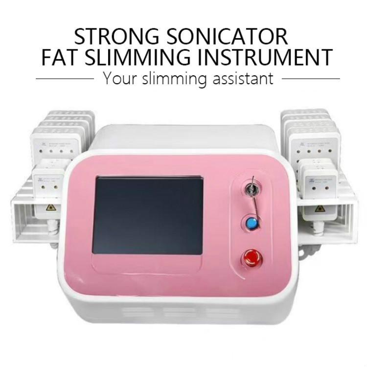 Lipo Laser Lipolysis Slimming Cellulite Removal Beauty Machine Newest Fat Reduction 980nm Diode Laser Body Shapping Fat Burning
