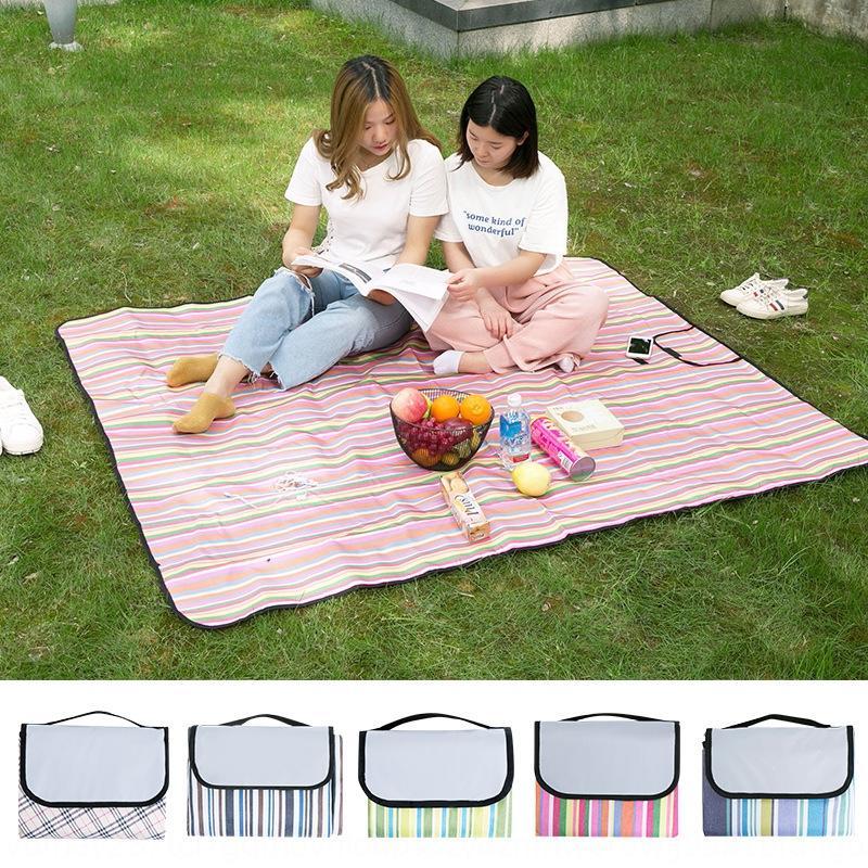Outdoor pavimento portatile Trattamento Trattamento forniture mat mat picnic popolare online picnic impermeabile gita ispessite a prova di umidità