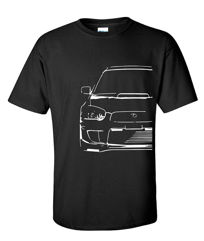 New 2019 Hot Customized Rundhals-T-Shirt Mode Kleidung T-Shirts Männer Männer Steampunk Wrx Sti Auto-Sammlung Hip Hop T-Shirts