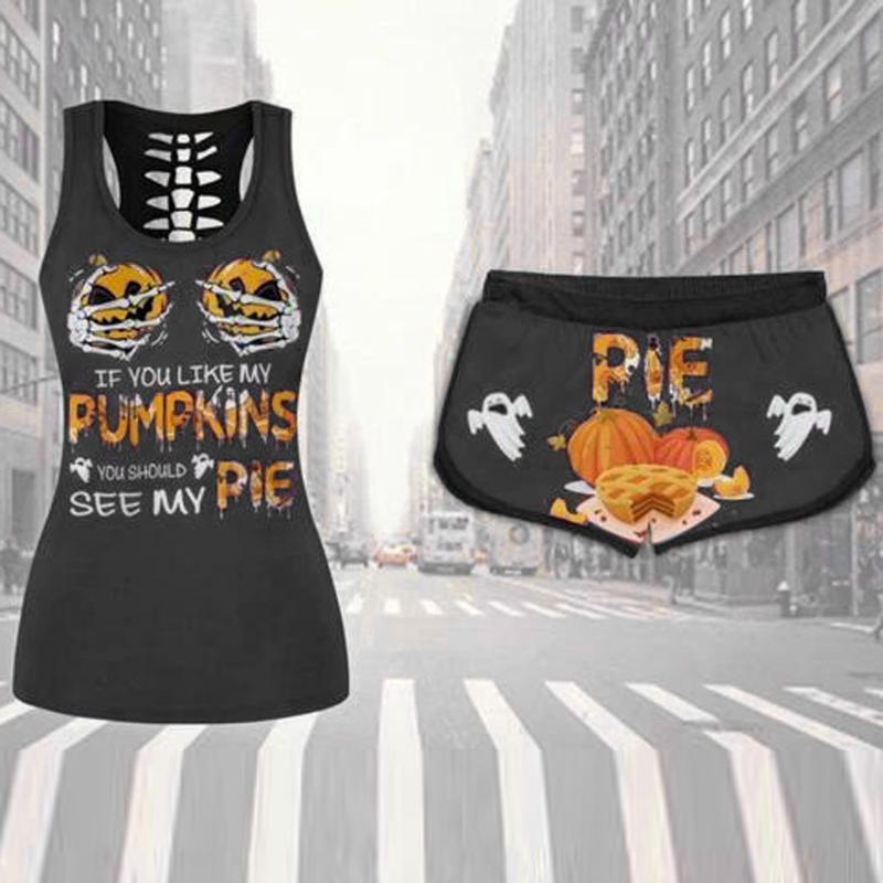 2020 Femmes Sexy Survêtement Plus Size Casual Imprimer deux pièces Set à manches courtes T-shirt Pantalon Costume Sport 2 pièces Tenues #C