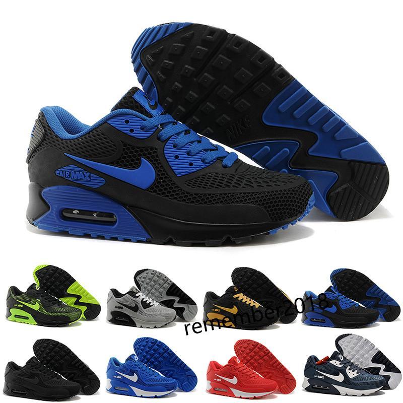Nike Air Max 90 KPU hombre Utilidad OG mejor calidad de los zapatos corrientes clásicos Airs Triple azul negro blanco rojo de los diseñadores para hombre Formadores Tamaño 40-46 h5