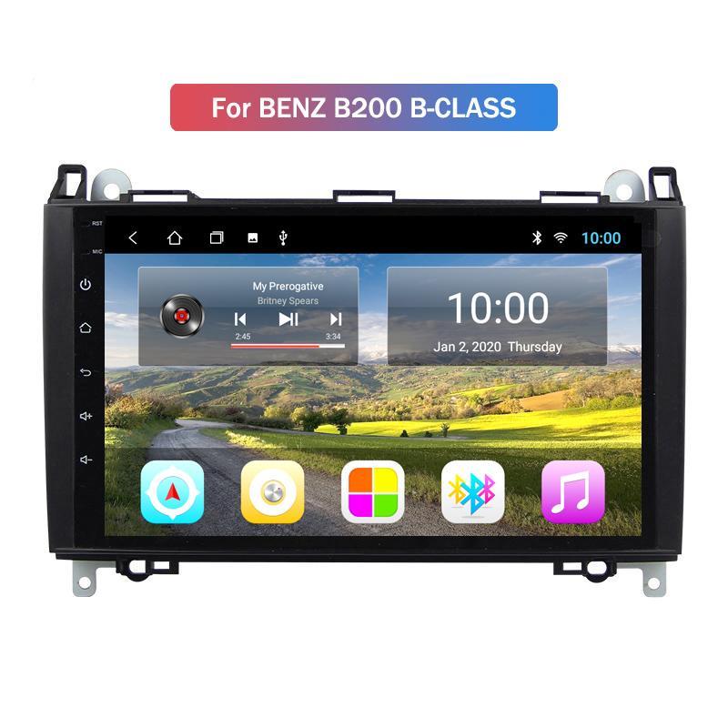 """9"""" сенсорный экран Авто радио Android автомобили автомагнитолы для BENZ B200 B-класса с полным Rca выходом"""