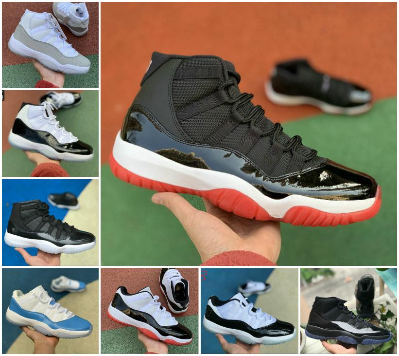 2020 Jumpman Pantone Bred 11 11s Basketball Shoes Cheap High Heiress Night Maroon Cool Grey Space Jam Concord 45 Low White Red Sneakers