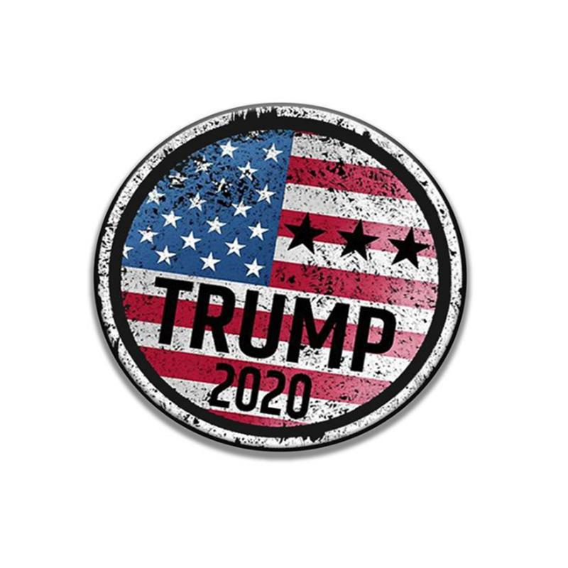 26 Style Trump Badge Brooches Pins 2020 American Election Supplies Trump Badge Keep America Great Badge YYA174