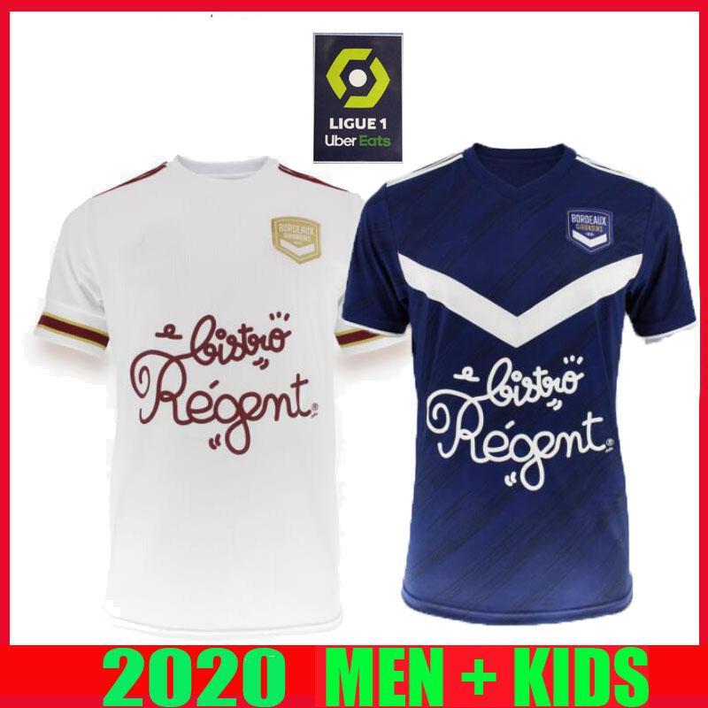 20 21 بوردو بالقميص لكرة القدم 2020 2021 مايوه دي القدم BRIAND S.KALU KAMANO BENITO المنزل بعيدا الرجال الاطفال قمصان كرة القدم الأساسية