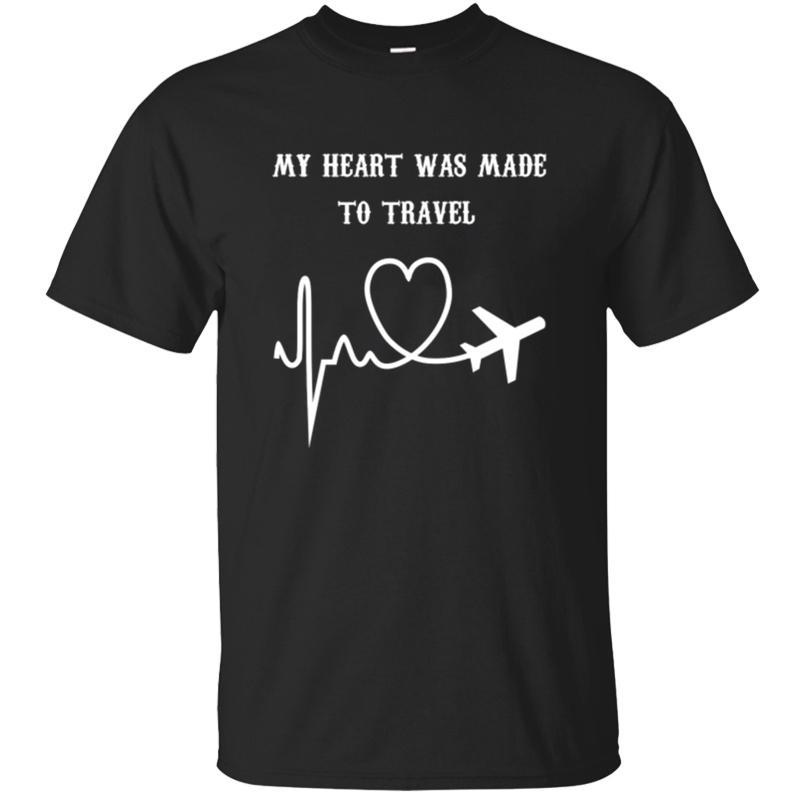 Imprimir amantes de los viajes humor camiseta mujeres de los hombres 2019 La luz del sol de Kawaii camiseta de algodón de los hombres de marca Tee tops