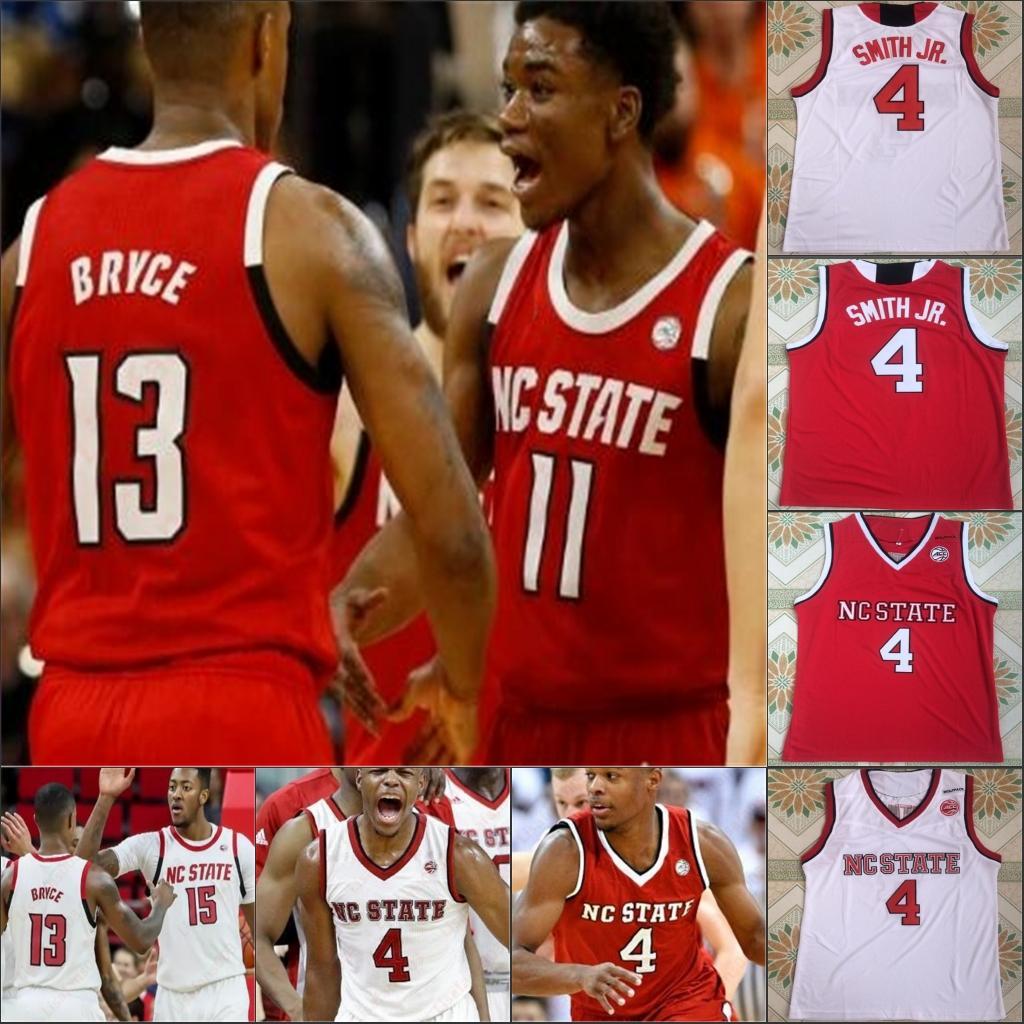 NC State Wolfpack Baloncesto universitario NCAA cosió jerseys David Thompson Blake Harris Walker Wyatt Devon Daniels Allerik Freeman