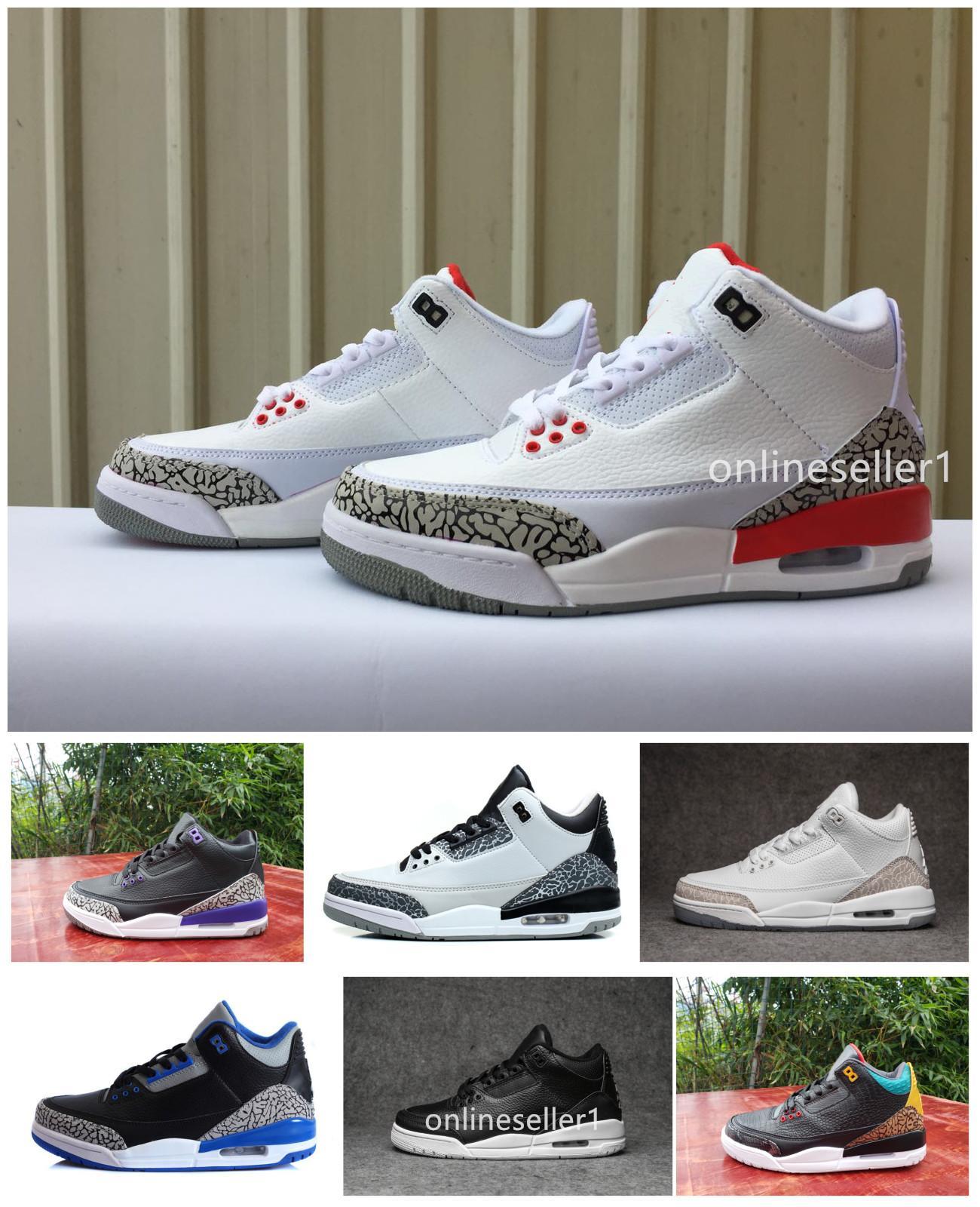 New 3s Basketball Shoes Men Designer