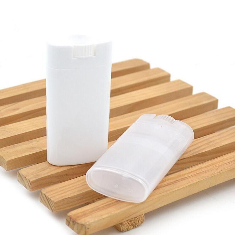 Nuovo 1PC PP ovale Lip tubo vuoto Deodorante Container Tubi Lozione Bar Twist vuoto