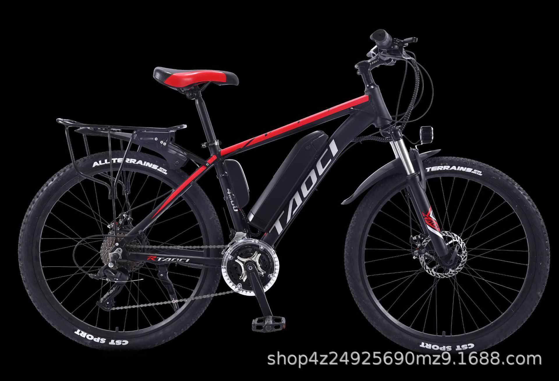 Завод прямые волосы 26-дюймовый электрический велосипед литиевой батареи горный велосипед мощность бездорожье скорость переменной взрослый автомобиль