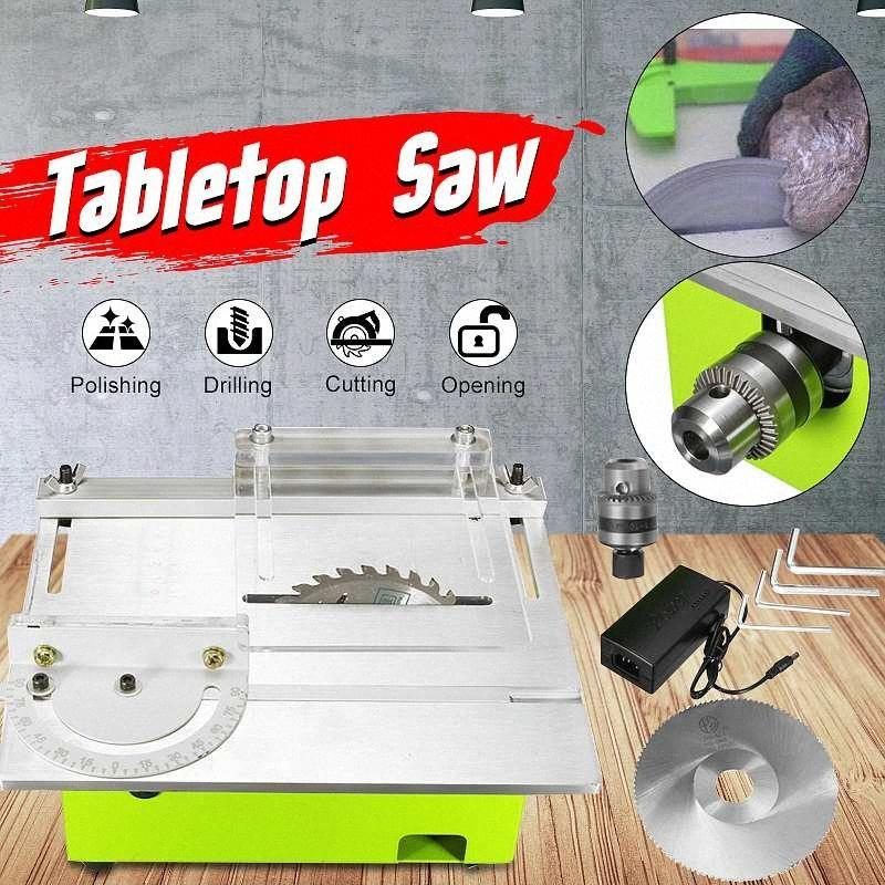 2020 Mini Table Saw Blade Handmade Woodworking Bench Lathe Electric Cutting Grinding Polishing Carving Machine Dc 12v 24v N7gs From Zarrd 56 73 Dhgate Com