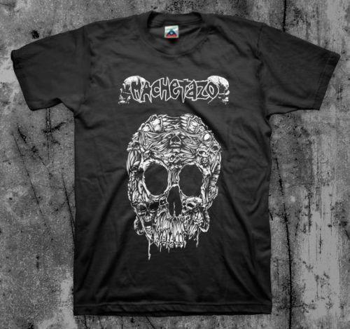 T-shirt Cripple Bâtards Sob Naplam Nashul Grind Nouveau 2019 Imprimer manches courtes T-shirts Homme de mode T-shirt Machetazo 'Ultraumba'