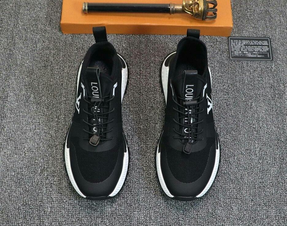 confort décontracté hommes en cuir édition limitée automne 2020t respirant bas-top chaussures, chaussures chaussures de sport de mode sauvages du parti, taille: 38-45