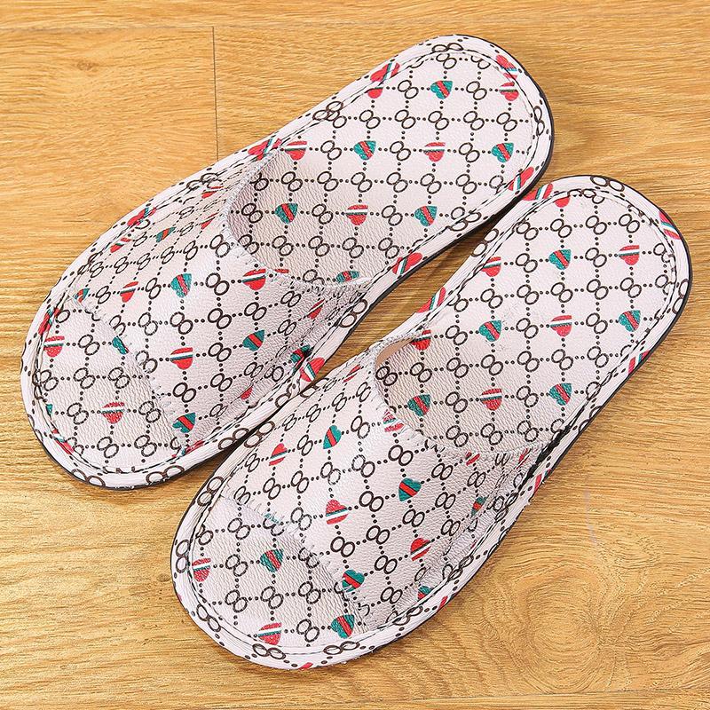 Zapatos planos Interiores zapatillas de verano antideslizante Light Hotel Calzado Pareja inferior suave deslizadores de las sandalias de los hombres de Flip Flops
